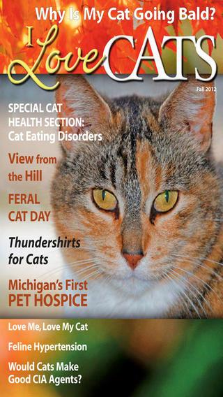 Cat magazine app