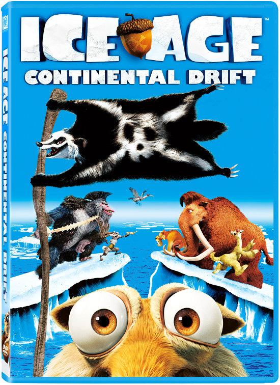 Ice Age Continetal Drift