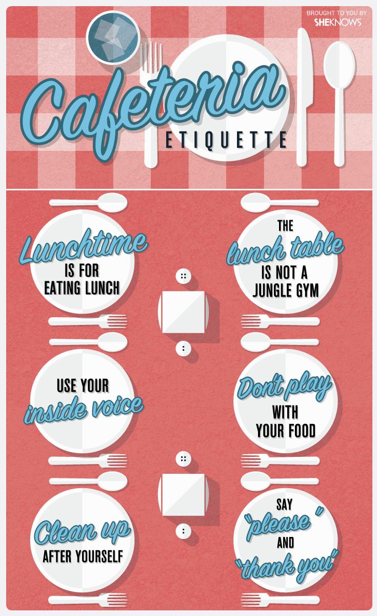 Cafeteria etiquette   Sheknows.com