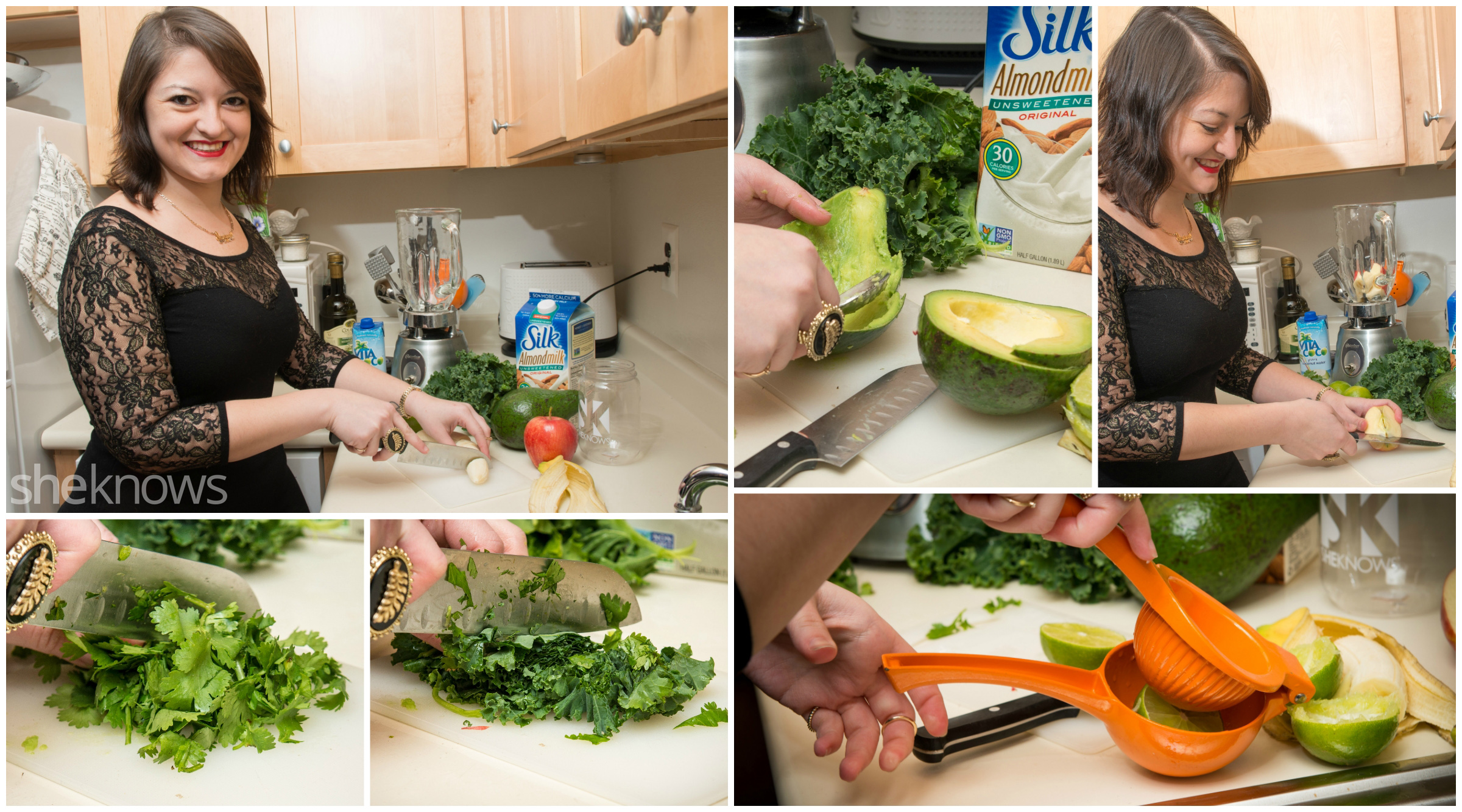 Holiday Survival Smoothie prep
