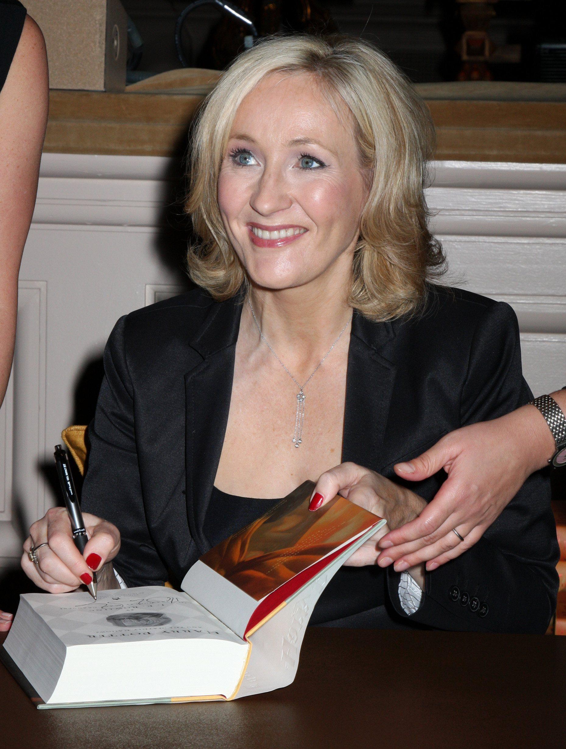 JK Rowling Open Book Tour