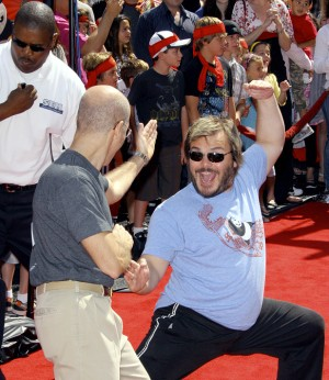 Jack Black is ready to clown with a new baby