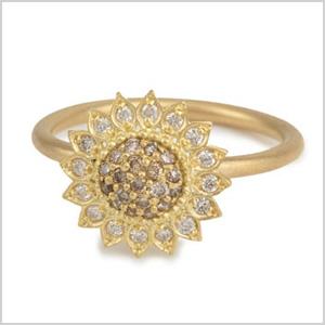 Jamie Wolf Small Sunflower Ring