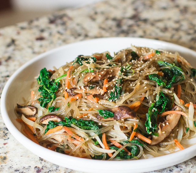 You'd never imagine these noodles are made from sweet potatoes