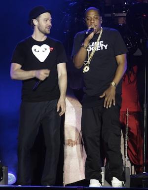 Jay-Z and Timberlake