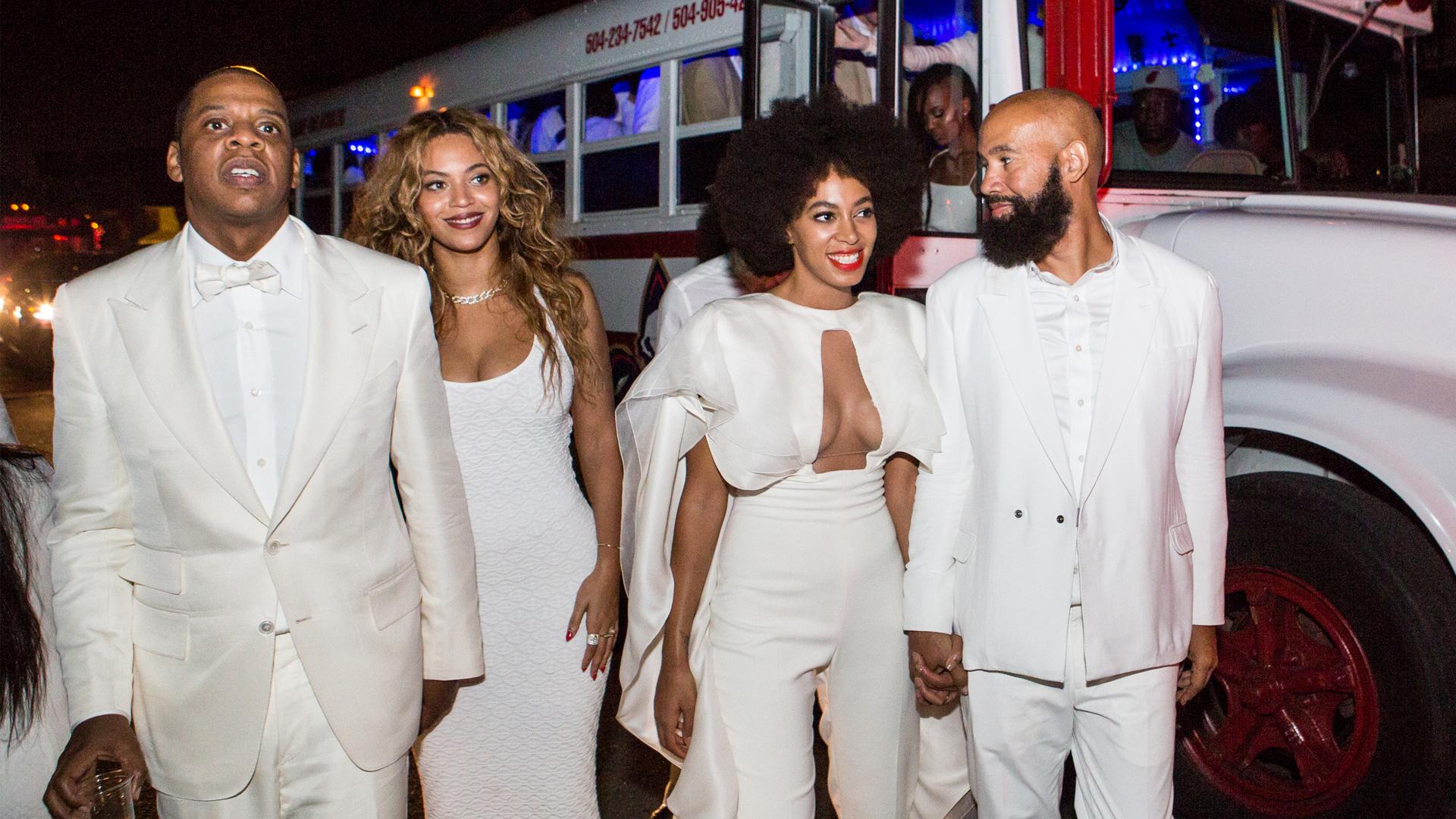 Jay-Z Beyonce, Solange