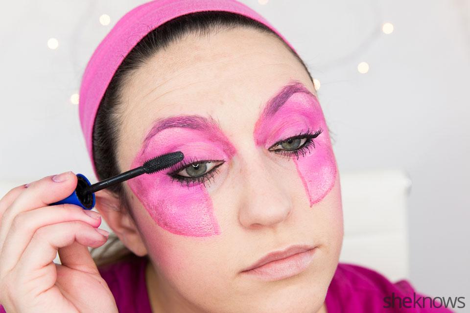 Jem Halloween makeup tutorial: Step 10