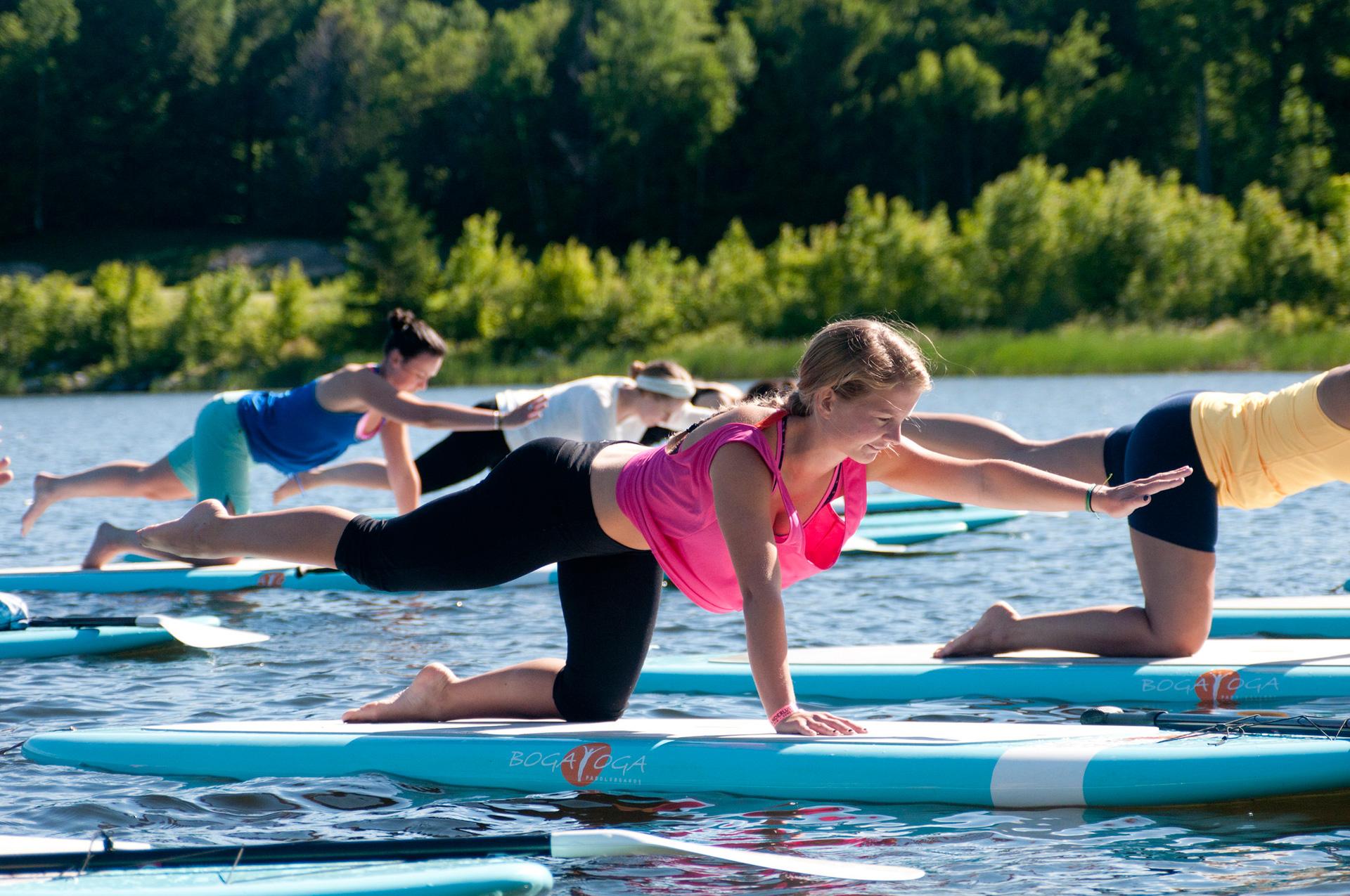 Katarina Arneric's Stand Up Paddle Board Yoga