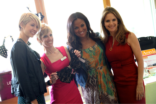 Jenna Elfman, Laila Ali and Kelly Preston