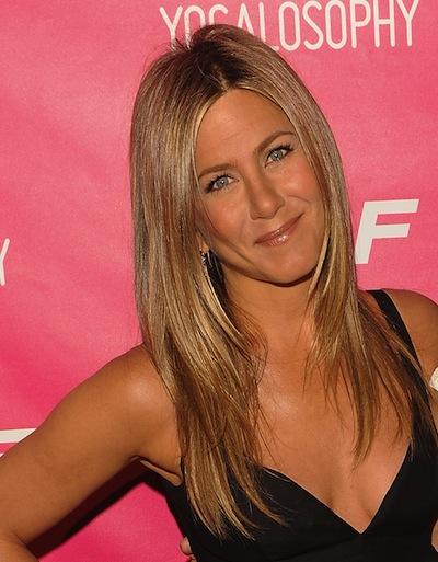 Jennifer Aniston with long layers