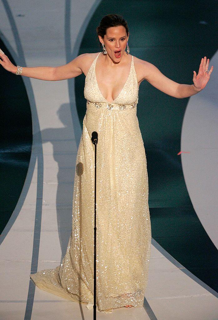 Jennifer Garner Oscar fall