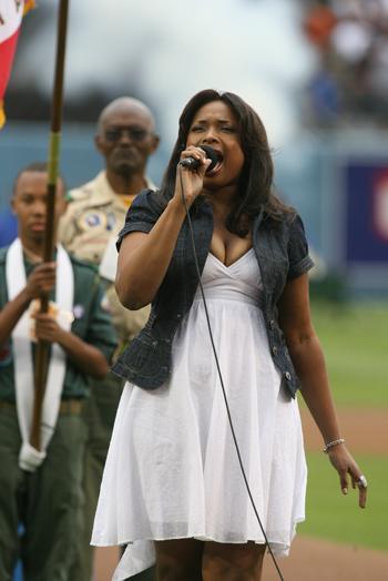 Jennifer belting the anthem to be seen by 60 million people