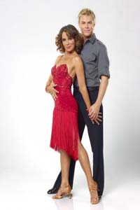 Jennifer Grey and Derek Hough on Dancing with the Stars