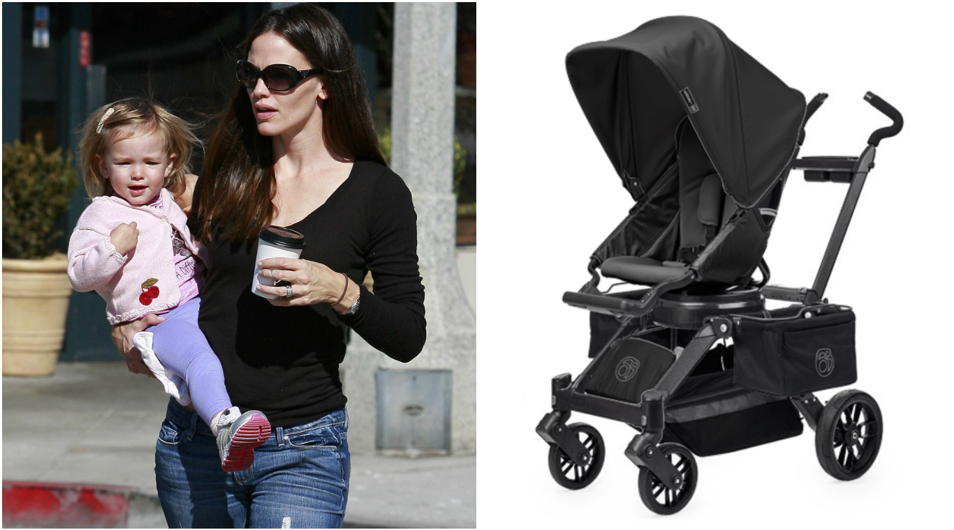 Jennifer Garner with Seraphina