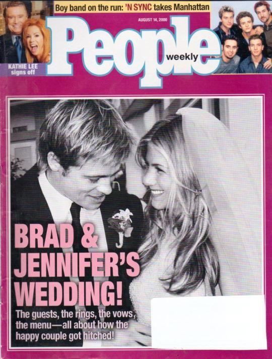 Jennifer Aniston wedding picture