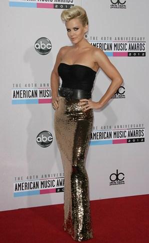 Jenny McCarthy at the AMA Awards