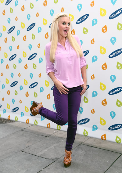 Jenny McCarthy at the Old Navy Fashion Show