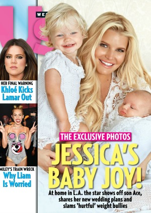 Jessica Simpson and babies
