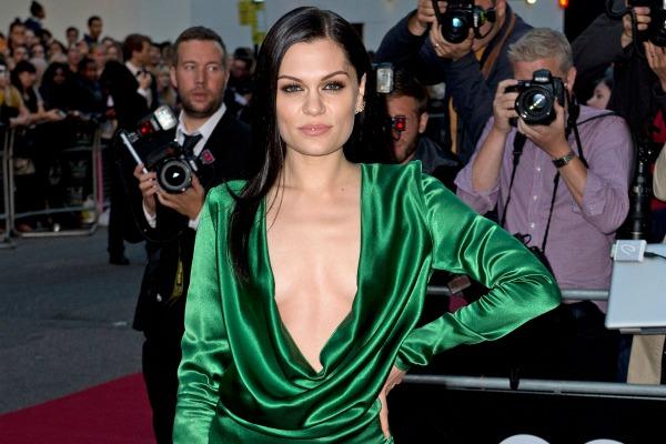 Jessie J and the plunging neckline trend