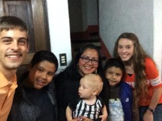 The Dillard Family mission trip