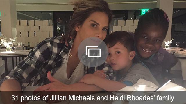 Jillian Michaels family slideshow