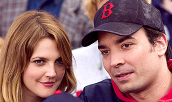Drew Barrymore and Jimmy in Fever Pitch