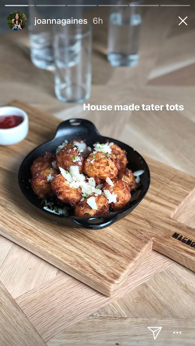 Joanna Gaines tater tots