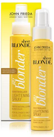 John Frieda Sheer Blonde Controlled Lightening Spray