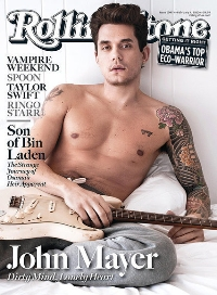 John Mayer on the current Rolling Stone