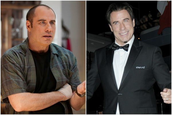 John Travolta and celebrities who wear a hairpiece