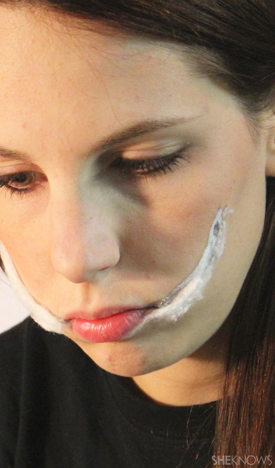 Freaky femme Joker makeup: Step 3