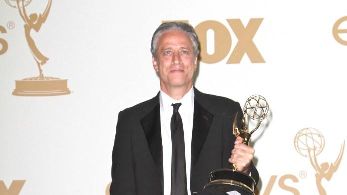 Jon Stewart's reaction to his own