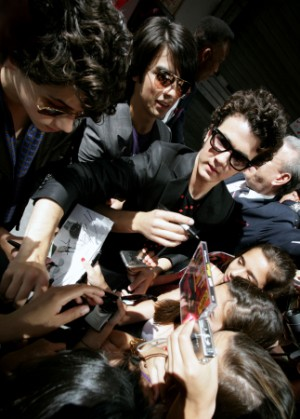 A normal day for The Jonas Brothers