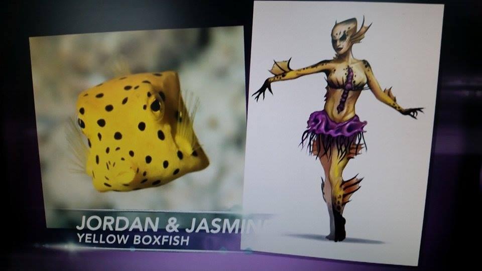 Jordan and Jasmine: Yellow Boxfish