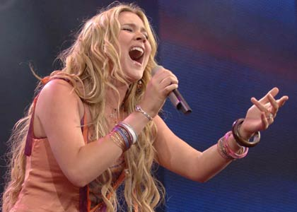 Joss Stone sings for America to vote!