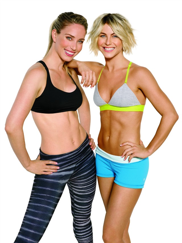 Julianne Hough and her personal trainer