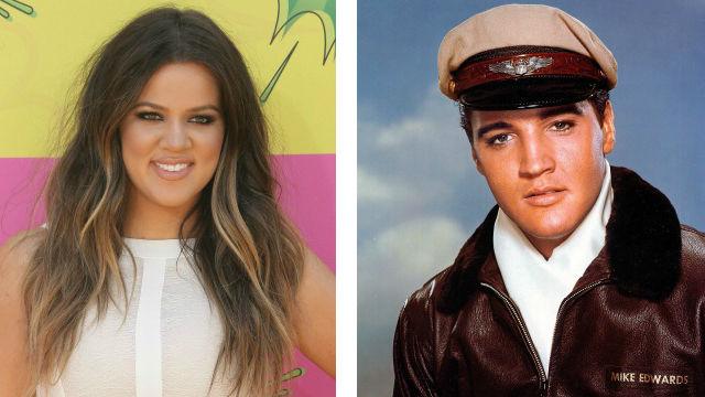 Khloe Kardashian Elvis Presley