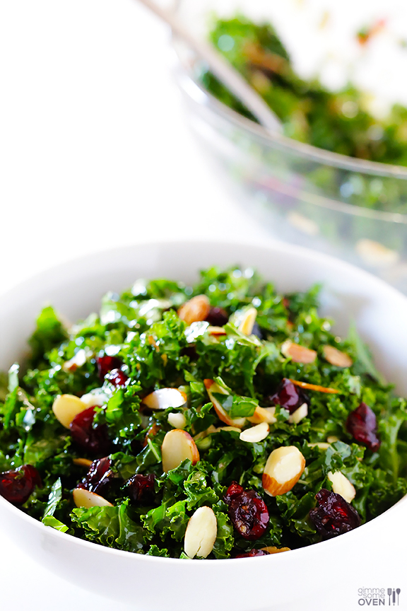 kale cranberry salad