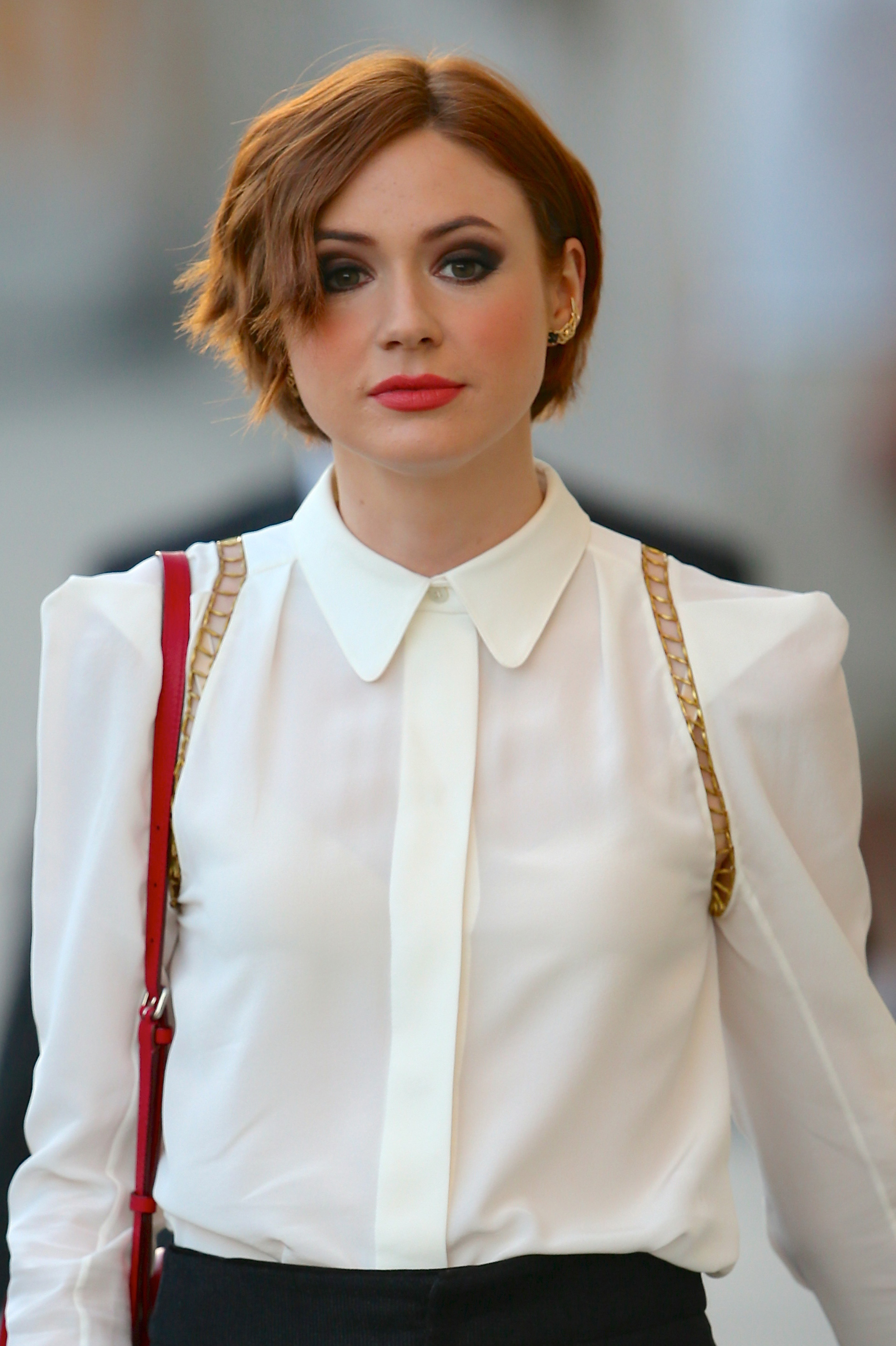 Best short hair: Karen Gillan