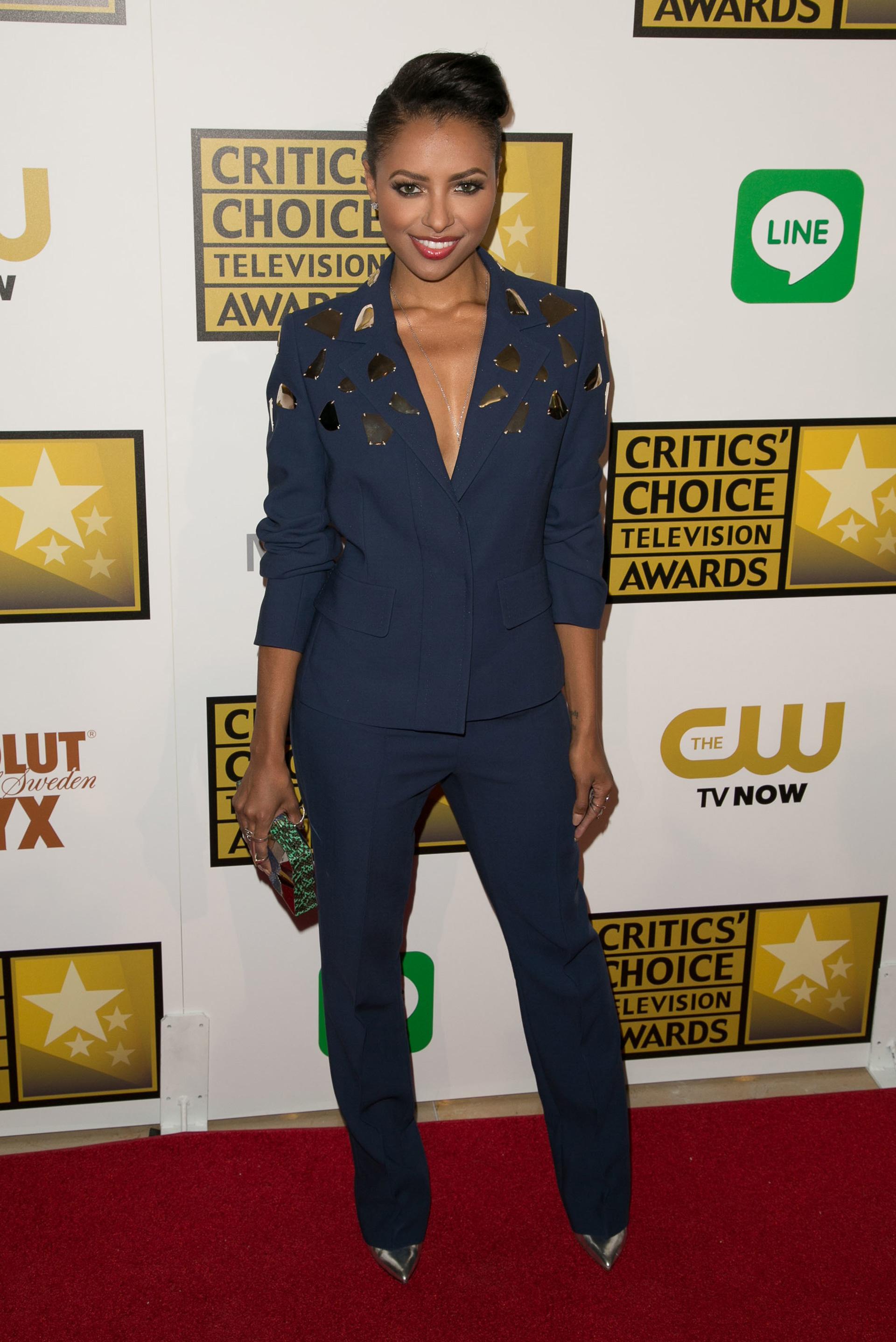 Kat Graham at the Critic's Choice Awards