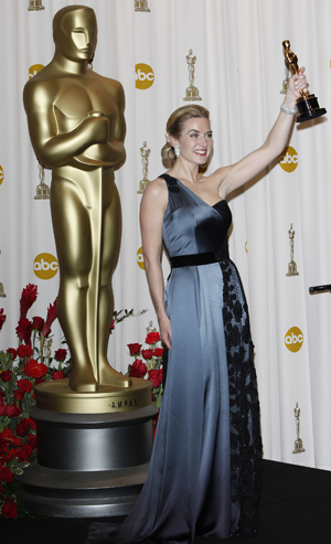 Kate Winslet has done it!