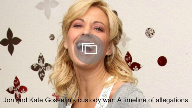 Kate Gosselin allegations slideshow