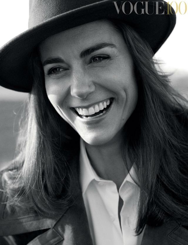 Kate Middleton Vogue 100