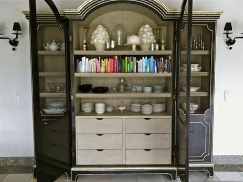 Katrina Teeple color coded shelf