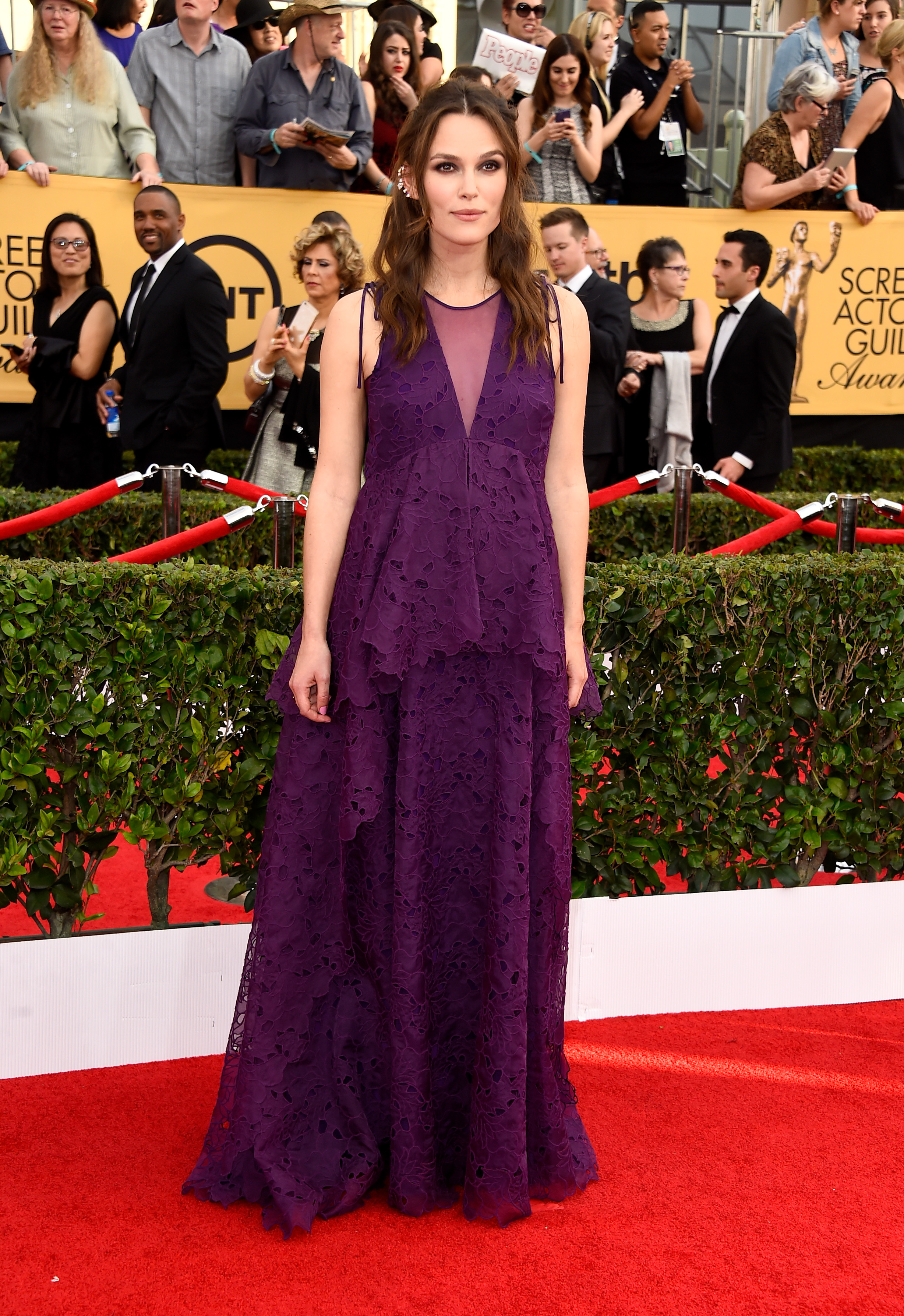Keira Knightley at the 2015 SAG Awards