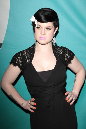 Kelly Osbourne out and about before getting cuffed