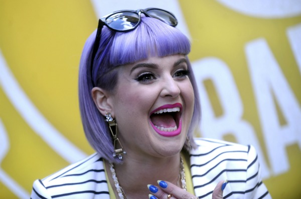 Kelly Osbourne and bright celebrity hairstyles