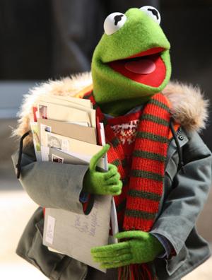Kermit celebrates Christmas on NBC on TV tonight