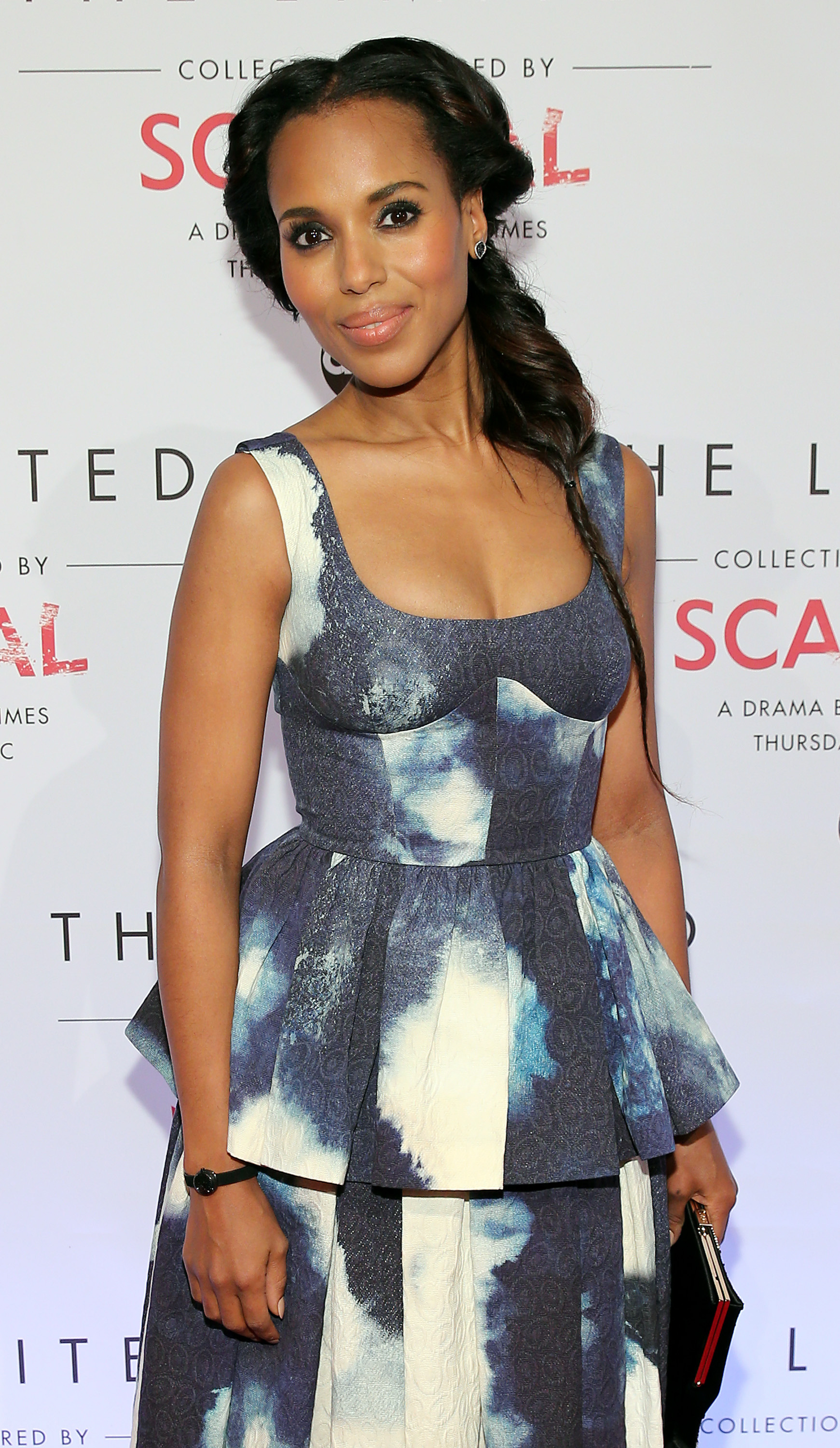 Best braid: Kerry Washington
