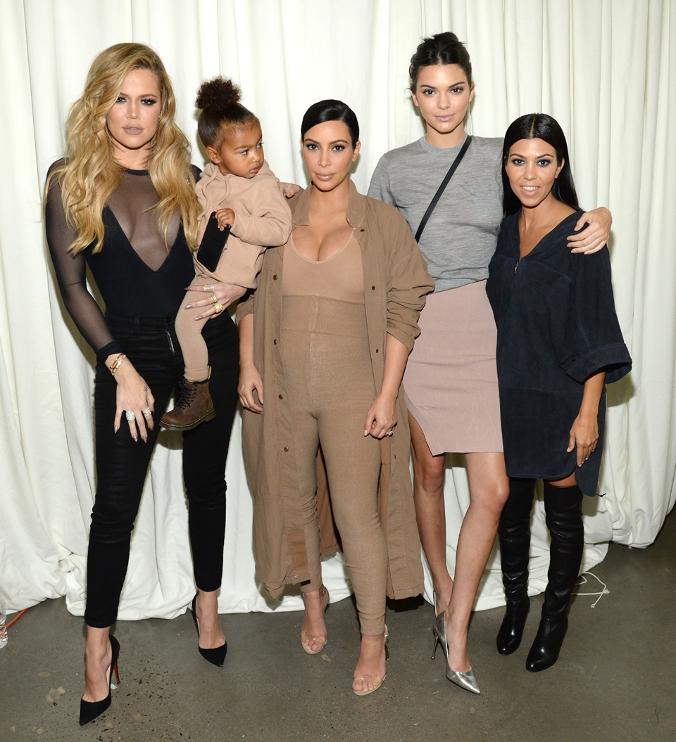 Khloe, Kim and Kortney Kardashian